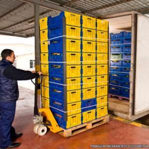 Transporte de matéria prima